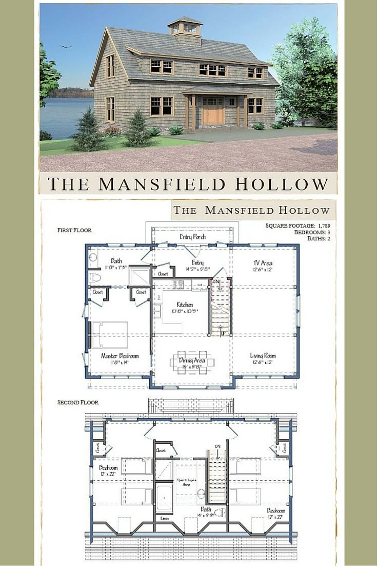 Mansfield Hollow | Pinterest | Open concept, Beams and Barn