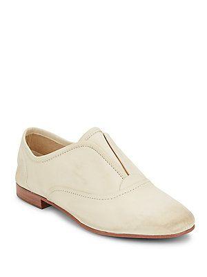 Frye Jillian Slip-On Flats - Off White - Size 8.5