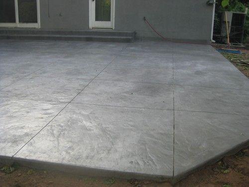 Cement Patio Designs Stamped Concrete Patio Italian