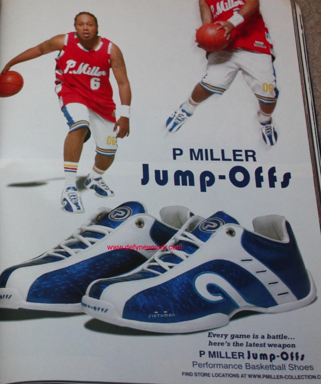finest selection 805c8 0b97f P. Miller (Master P) Jump Offs Basketball Shoes! 2003