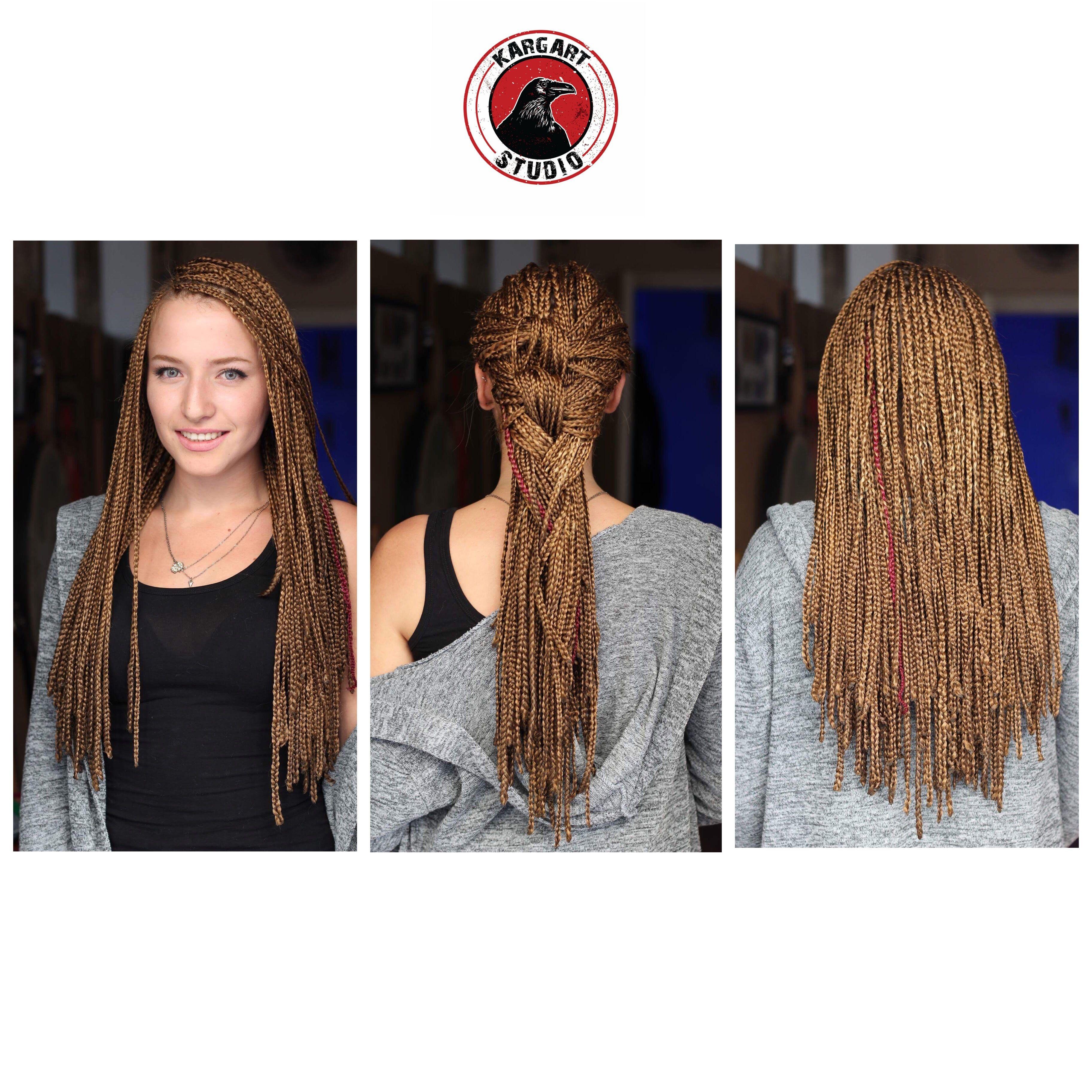 Afrika örgüsü saç trendi