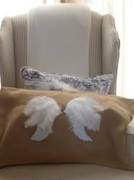 Image result for angel wings pillow