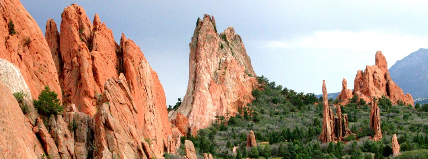 Garden Of The Gods Park Is A Registered National Natural Landmark
