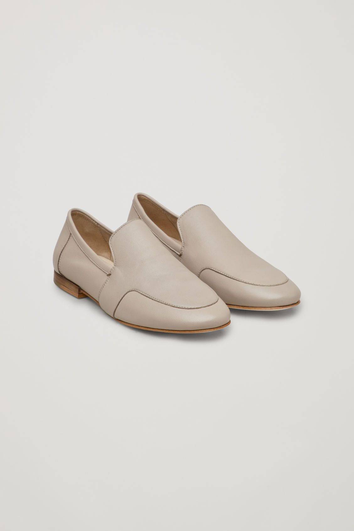 a83e324410 SOFT LOAFERS - Light taupe - Shoes - COS