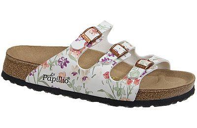 Papillio Womens Florida Birko-Flor Softfootbed Mules