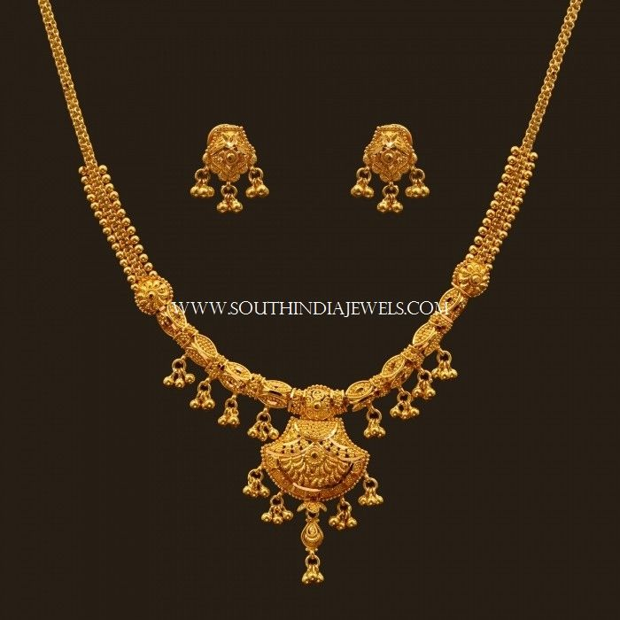 7435b6fd93c10 Latest Gold Necklace Set Designs With Price | gold as tradition ...