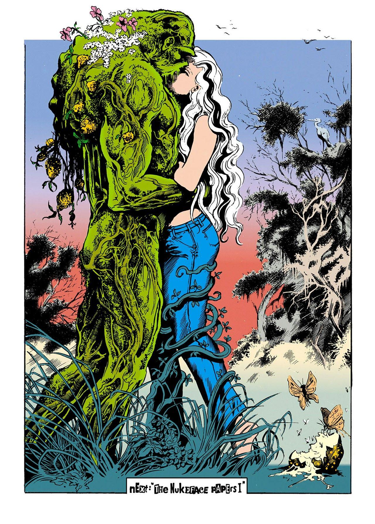 Swamp Thing #34 - Stephen Bissette and John Totleben ...