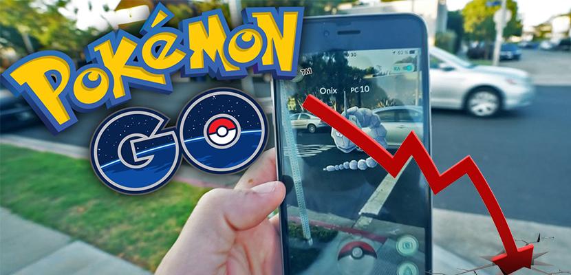 Todo lo que sube, tiene que bajar: Pokémon GO empieza a desinflarse - http://www.actualidadiphone.com/pokemon-go-empieza-desinflarse/