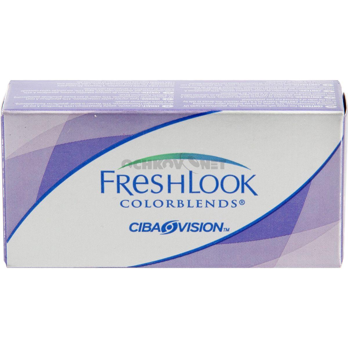 FreshLook ColorBlends 1 линза Контактные линзы, Цвет