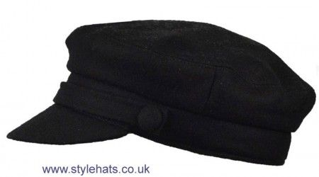 FIDDLER 1960 s VINTAGE STYLE CAPTAIN HAT CAP by G/&H HATS