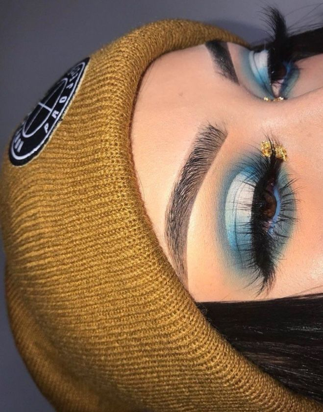 Pin by Cecilia Gutierrez on Makeup Colorful makeup