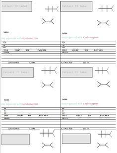 Nurse Brain Sheets - MedSurg Notecards | Nurse brain sheet