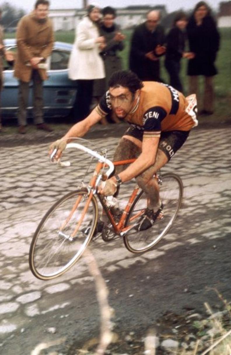 Casquette Eddy Merckx vélo vintage Tour de France rétro cycle