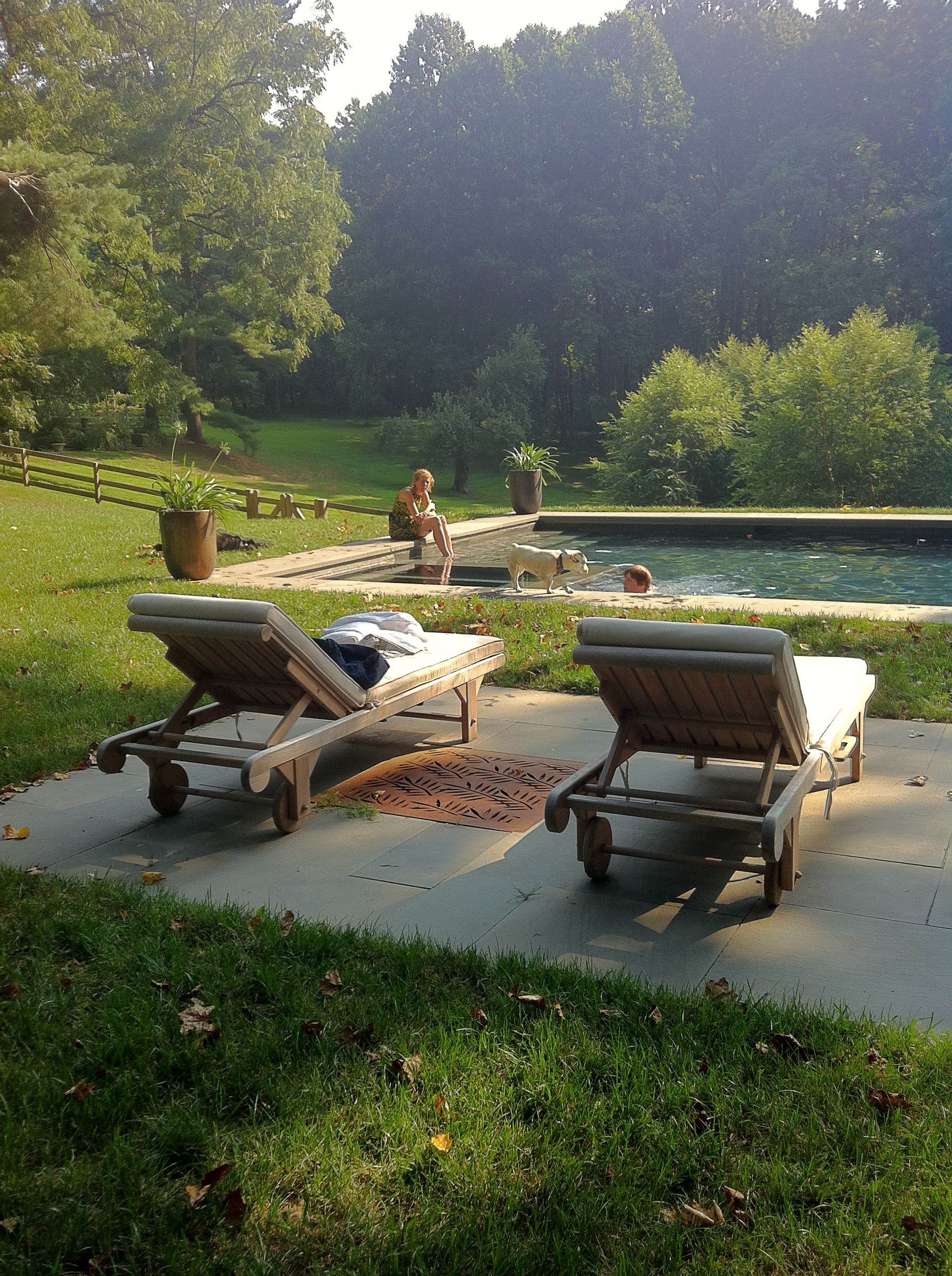 chez nous | Garden swimming pool, Outdoor, Country pool on My Garden Outdoor Living id=32638