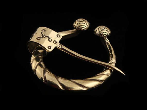Hey, I found this really awesome Etsy listing at https://www.etsy.com/listing/94891420/viking-age-penannular-brooch