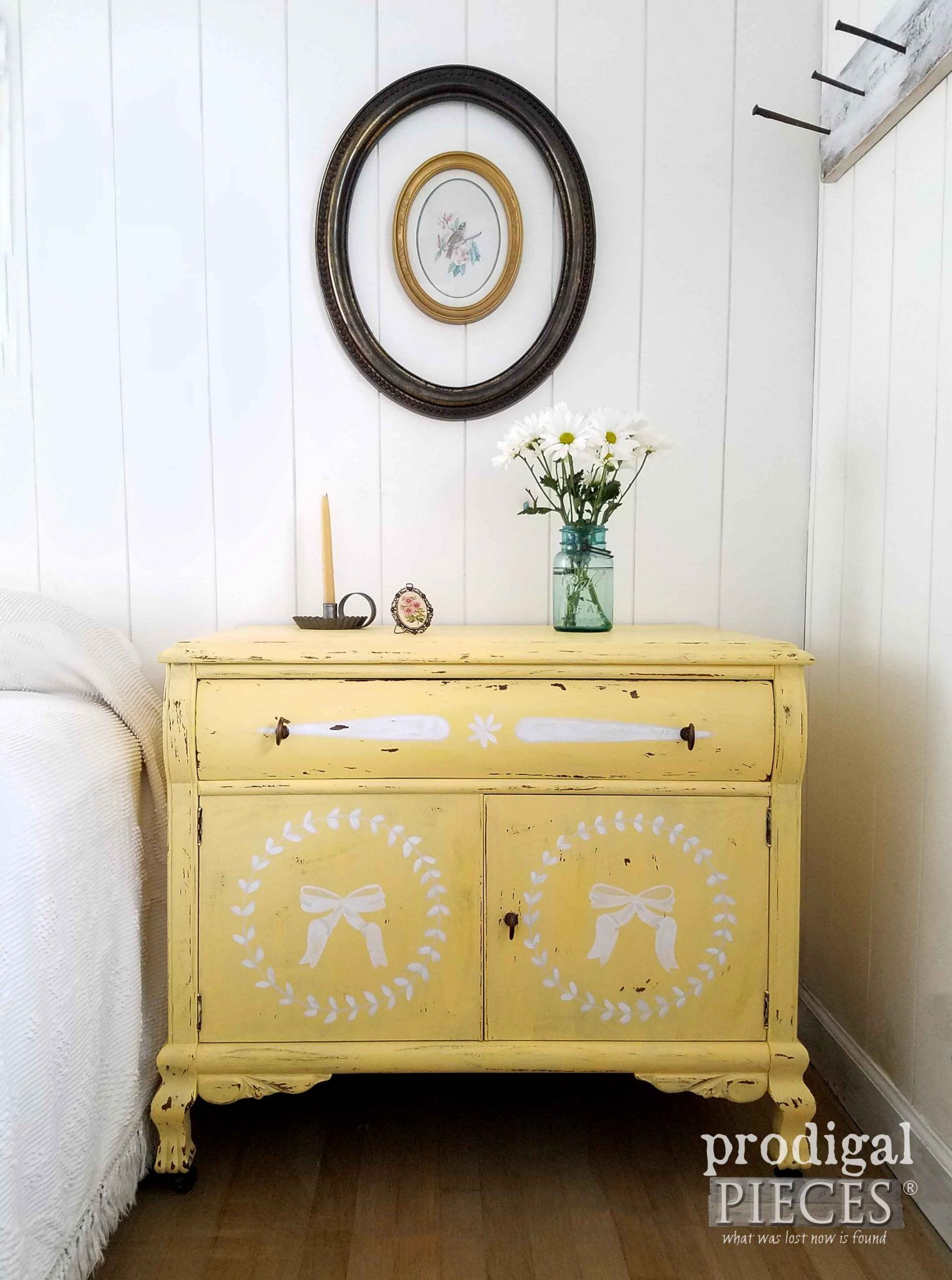 Vintage Chest Makeover with Prairie Style   Pinterest   Yellow ...