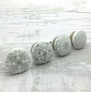 Success Ceramic Door Knobs Cupboard Drawer Handles