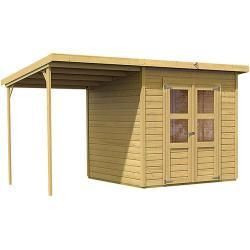 Gerätehäuser mit Pultdach Karibu gartenhaus, Flachdach