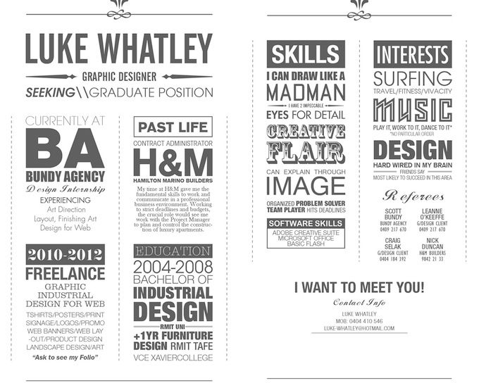 Amazing cover letters and resumes! Photoshop \ design - amazing cover letters