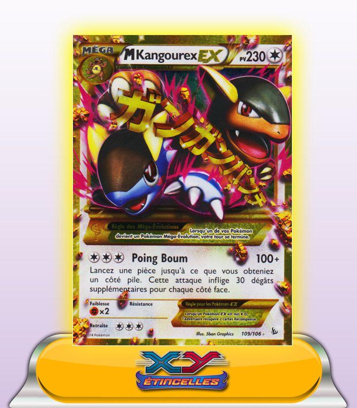 Mega kangourex ex secrete 230pv 109 106 xy2 fr - Pokemon mega kangourex ...
