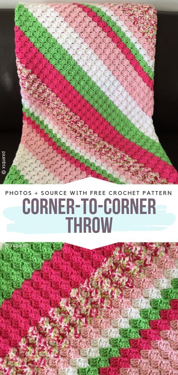 C2C Baby Blanket Ideas Free Crochet Patterns #c2cbabyblanket C2C Baby Blanket Ideas Free Crochet Patterns - Free Crochet Patterns #c2cbabyblanket