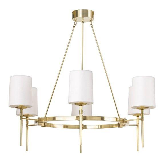 Miraculous Bristol 6 Light Chandelier Antique Brass In 2019 Berwick Interior Design Ideas Tzicisoteloinfo