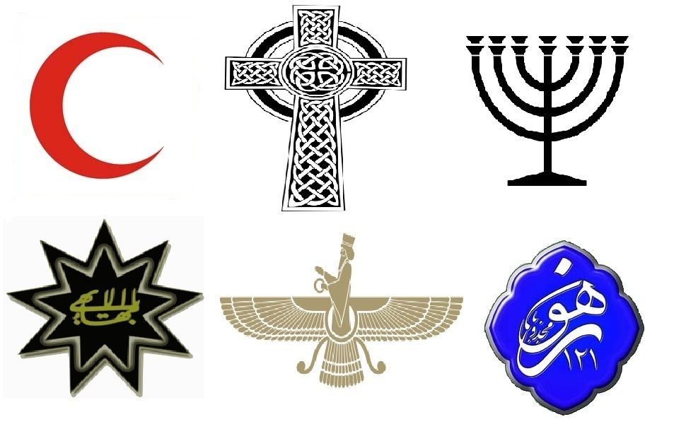 These Are The Simpels Of The Main Religion In Iran IRAN - Main religions