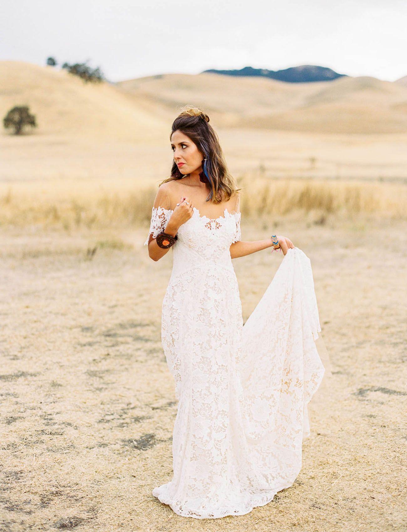 Sultry southwestern edgy meets bold boho wedding inspiration boho