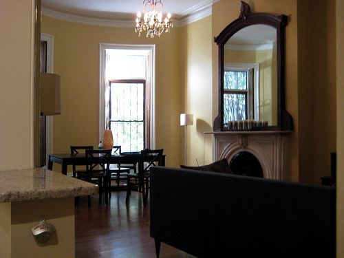 Benjamin Moore Concord Ivory Family Room Color