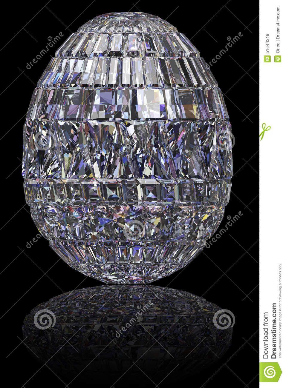 Huevo de Pascua transparente