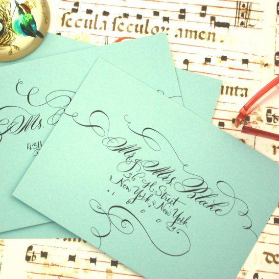 Matchy Matchy Letterpress Invite And Handmade Envelope: Wedding - Invitations Etc