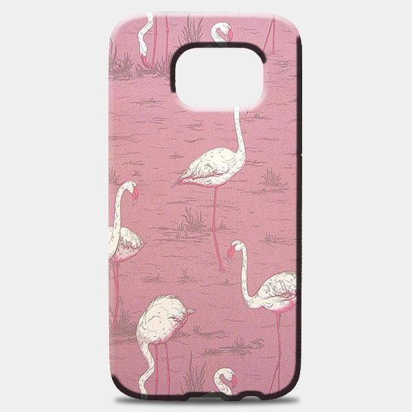 Vintage Flamingo Samsung Galaxy S8 Plus Case
