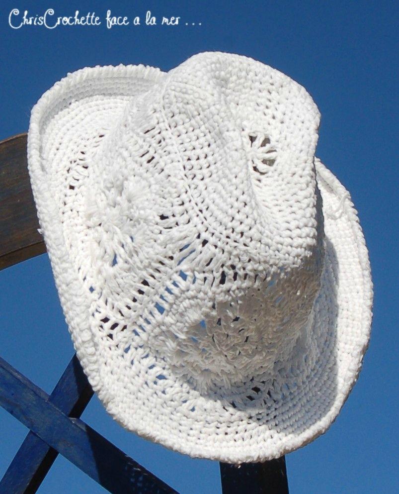 crochet cowboy hat | crochet stuff | Pinterest | Gorros, Ganchillo y ...