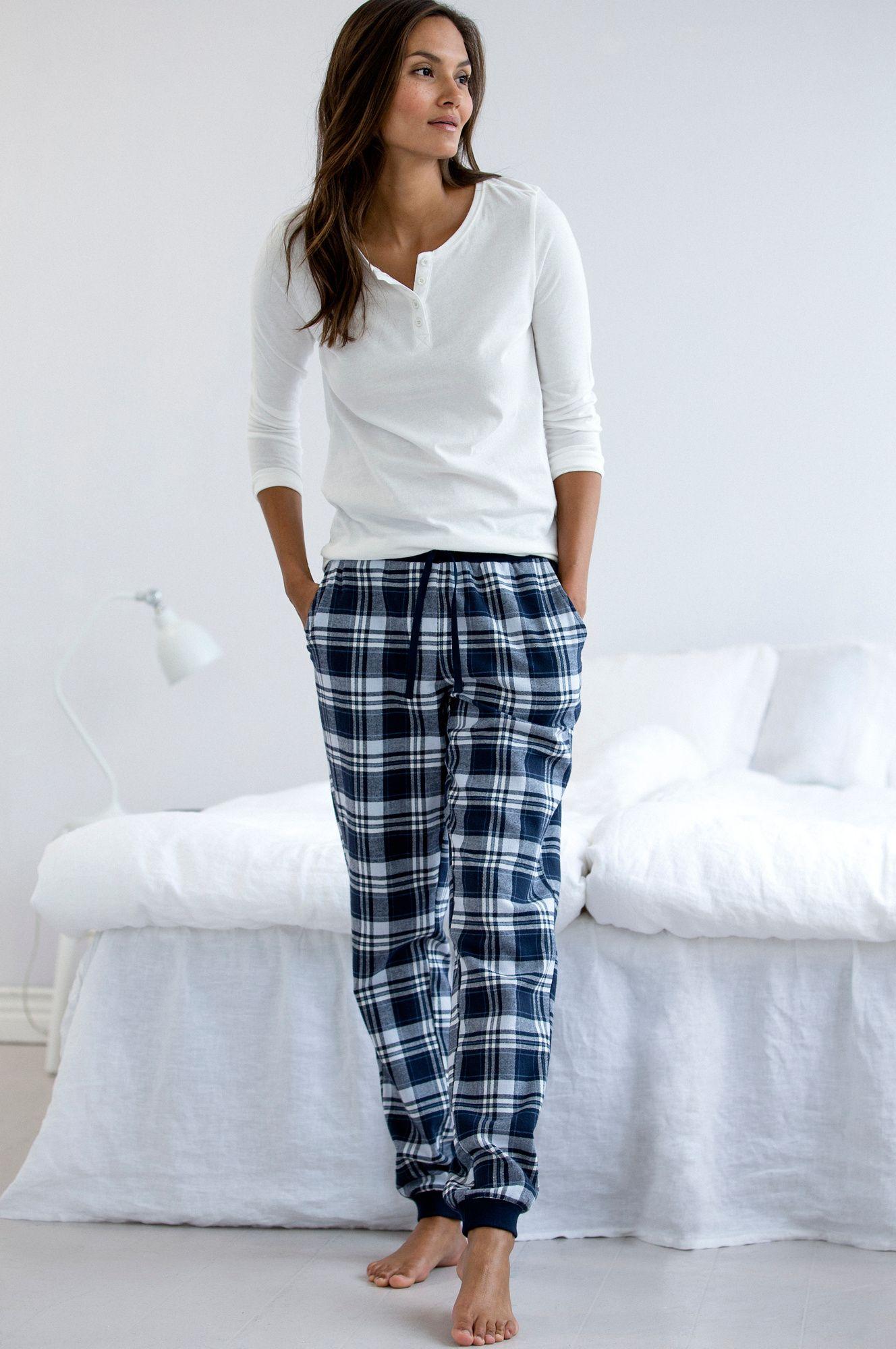 pyjamas i flonel