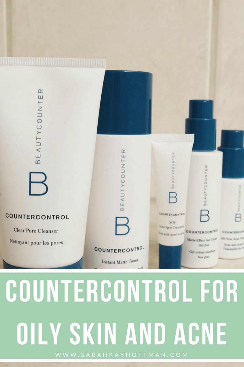 Countercontrol For Oily Skin And Acne Oily Skin Anti Aging Skin