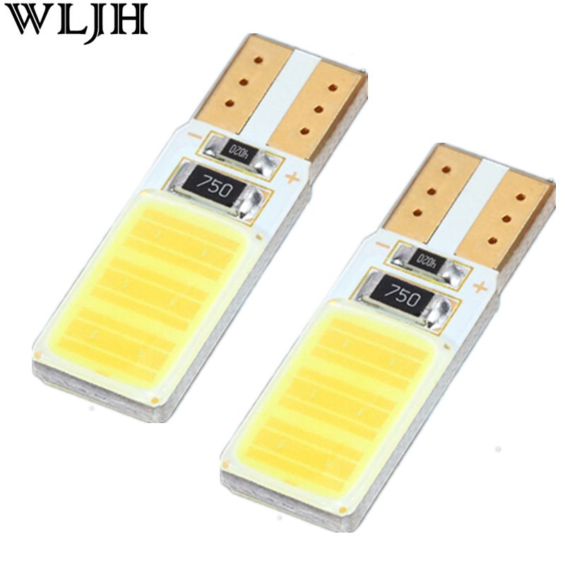 Signal Lamp. WLJH 1x Canbus COB T10 Led No Error W5W Led Auto ...