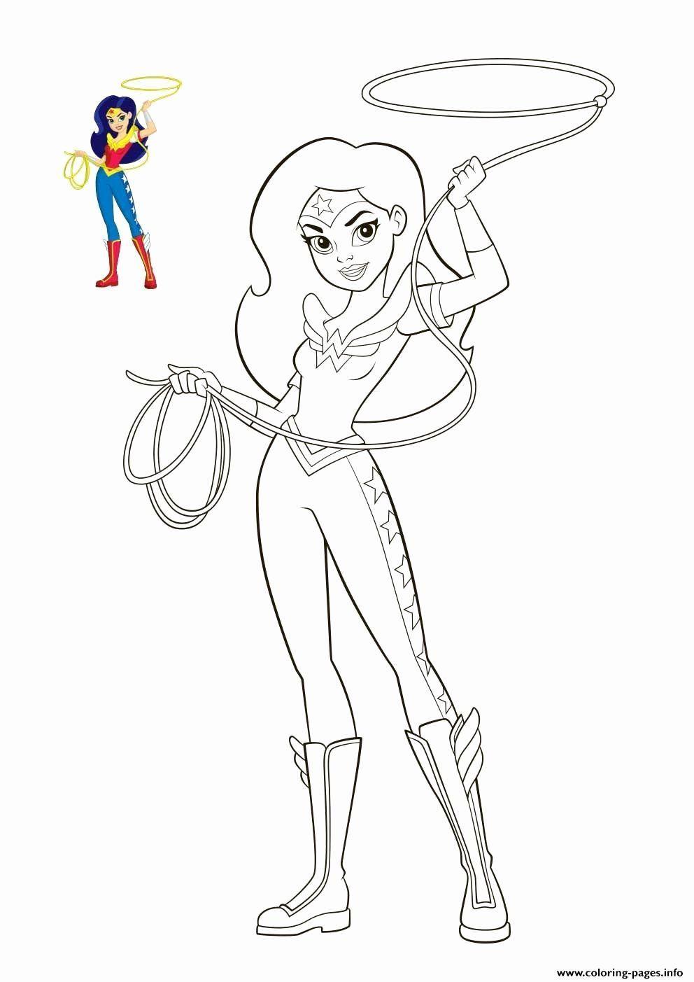 Dc Superheroes Women . Dc Superheroes  Coloriage super héros