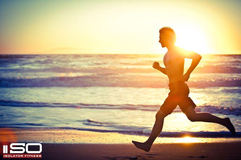 Sunset Beach Run. Desktop Background. Click to Download