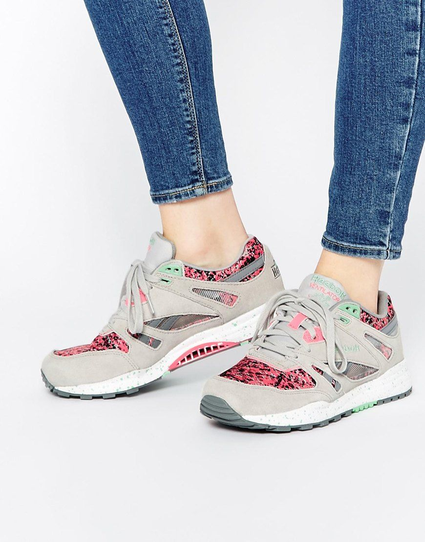 Buy Women Shoes / Reebok Ventilator Cg Speckled Trainers