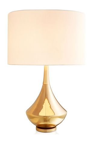 Buy Sloane Gold Finish Table Lamp From The Next UK Online Shop