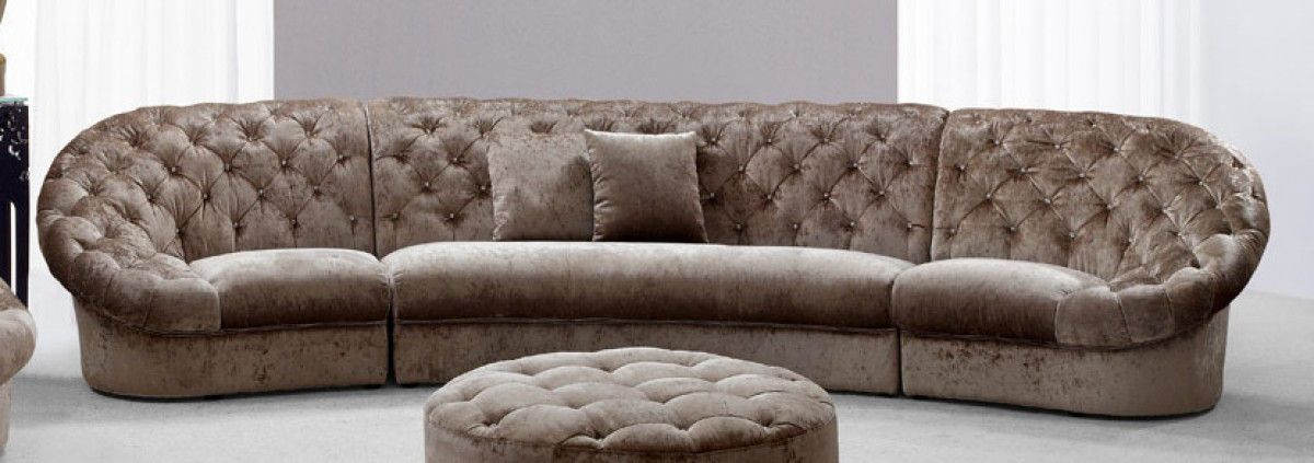 Contemporary Tufted Sectional Sofa Fabric Sectional Tufted Sectional Sofa Furniture