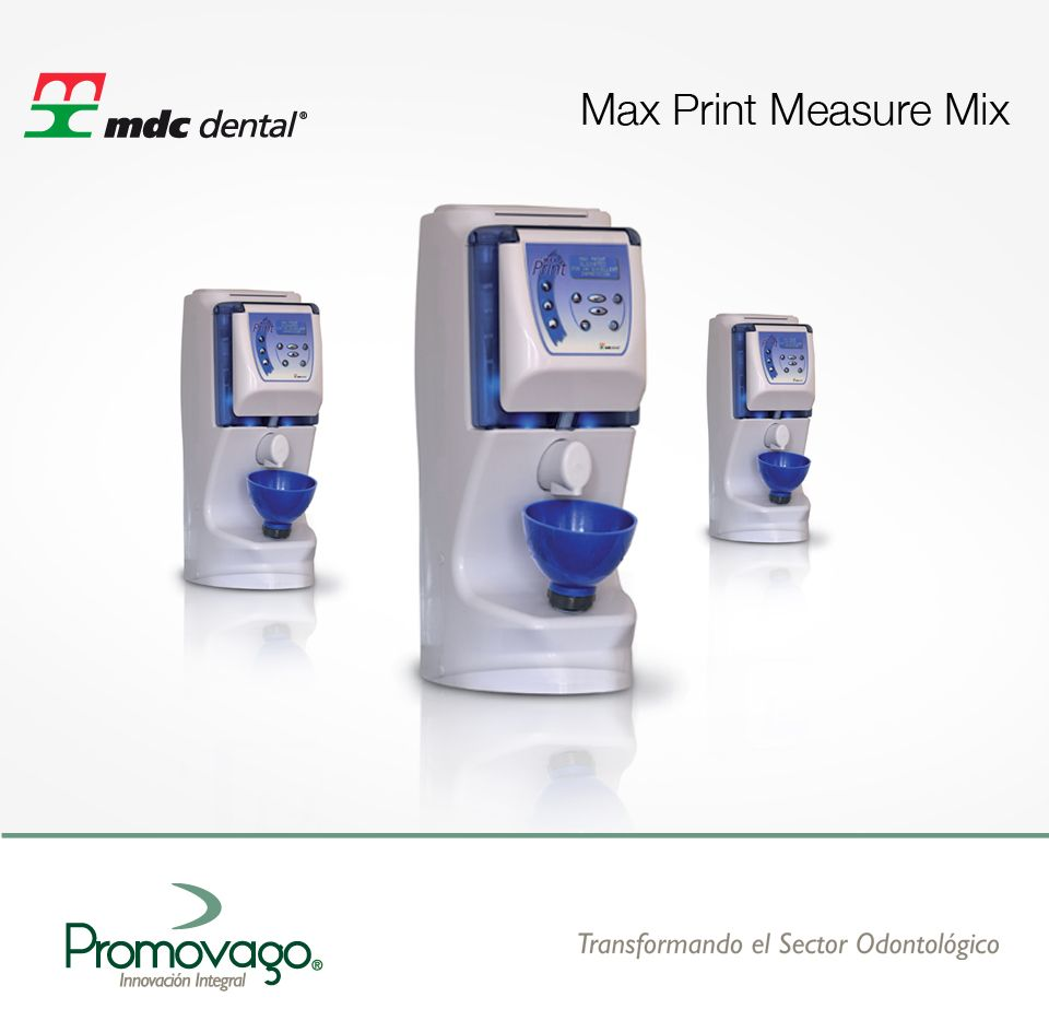 Max Print Measure Mix Marca Mdc Dental Portafolio De Productos  # Muebles Fijodent