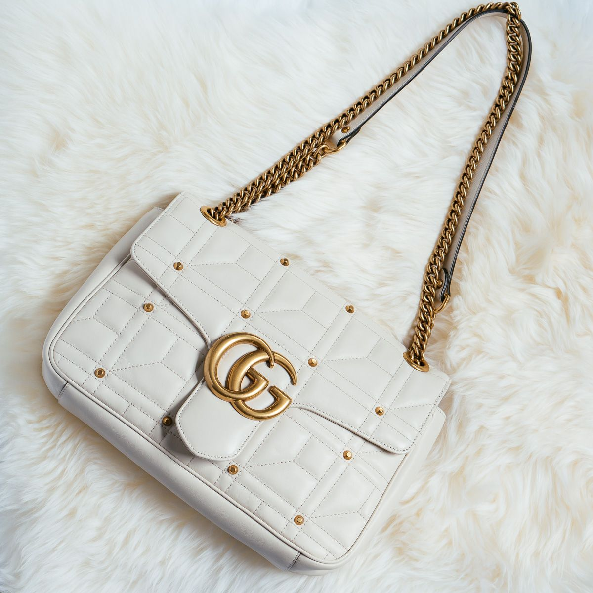 a9d4f5ea6713 Perfect Pairs: Gucci Marmont and Gucci Velvet Evening Slipper - PurseBlog