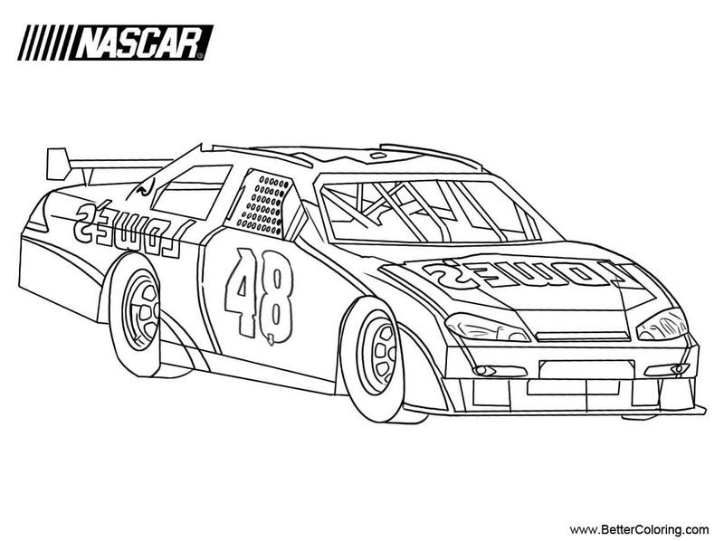 Printable Nascar Driver Coloring Pages In 2020 Race Car Coloring Pages Coloring Pages Nascar