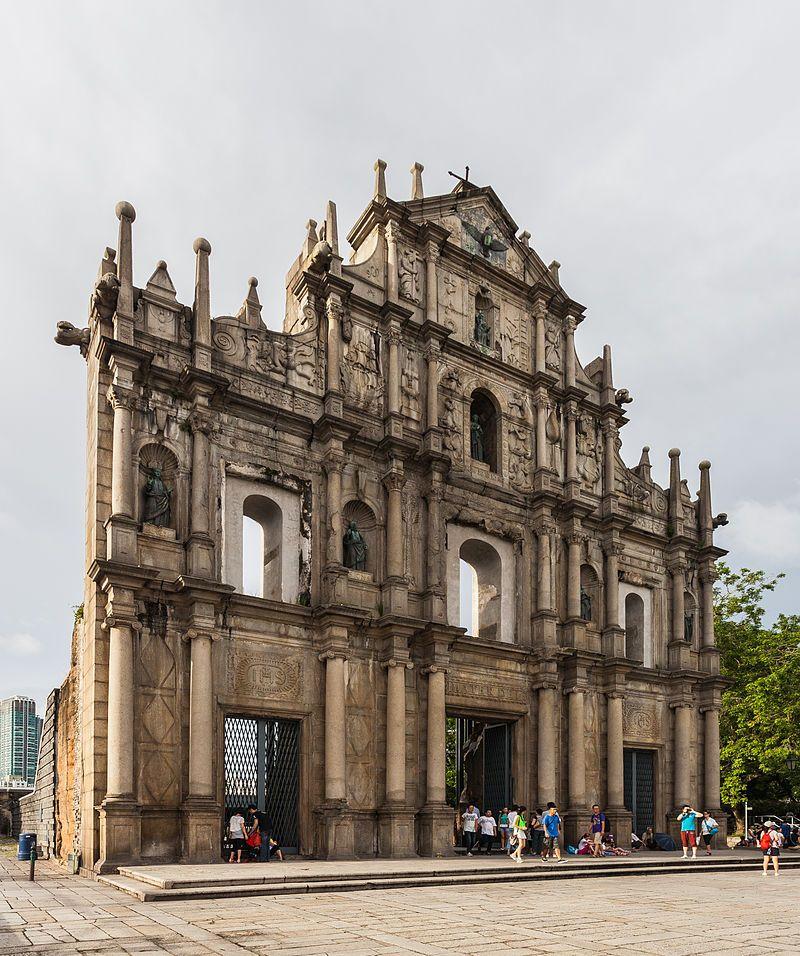 Macau Territory Under Portuguese Sovereignty Until 1999
