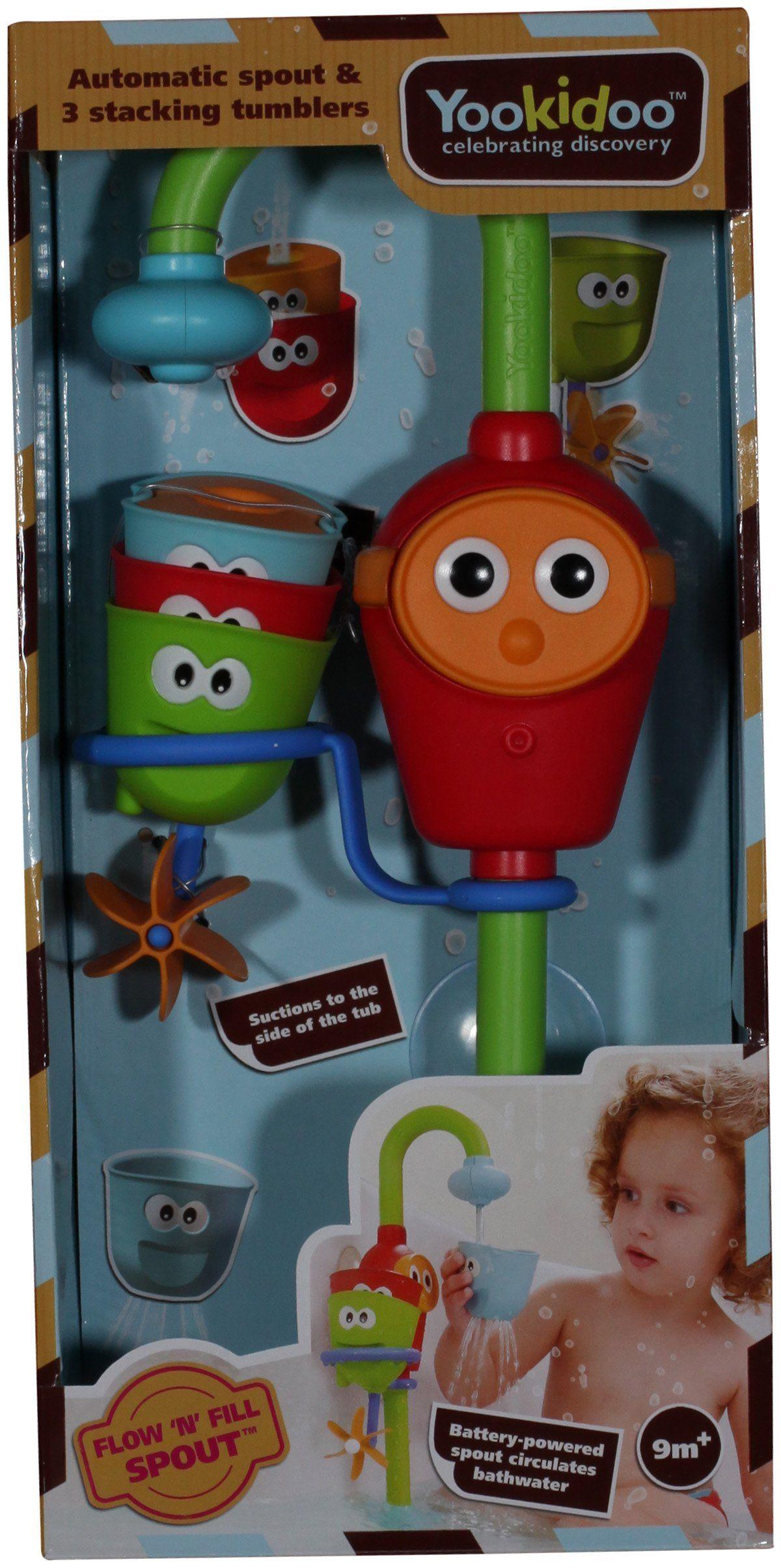 Amazon.com : Yookidoo Flow \'N\' Fill Spout : Bathtub Toys : Baby ...