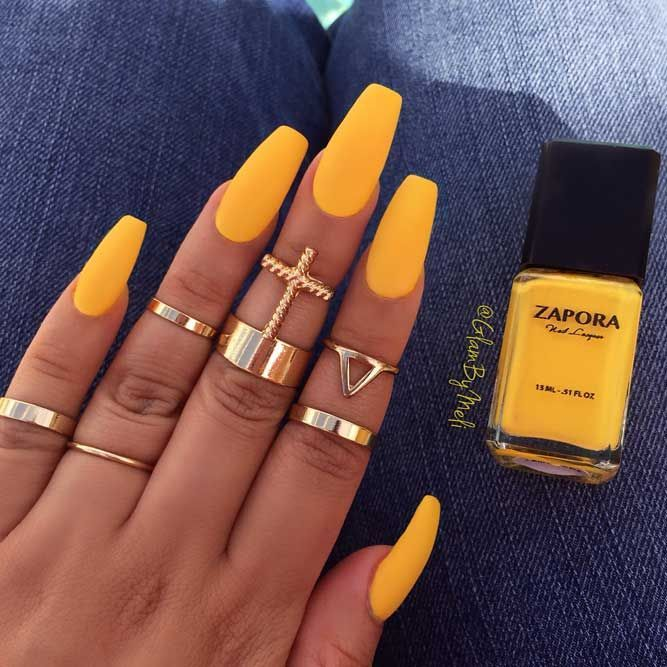 Photo of Sunny Shades Of Yellow Nails You Can Try