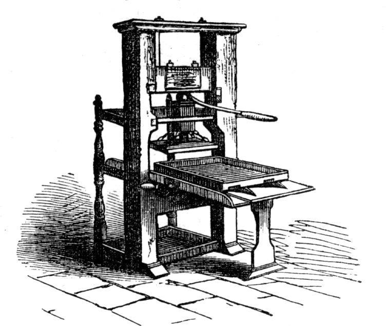 Creación de la imprenta por Gutenberg En 1435 Johannes Gutenberg desarrolla la imprenta de tipos…   Johannes gutenberg, Imprenta de tipos moviles, Disenos de unas