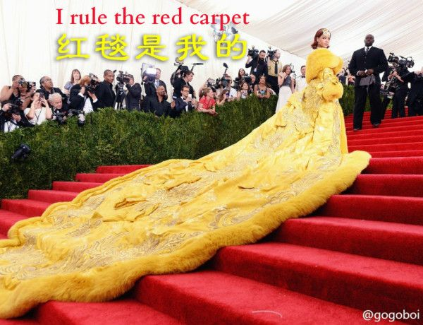 'Empress Ri' Rules the Met Ball With Chinese Pancake Dress (Funny Photos) http://www.visiontimes.com/2015/05/06/empress-ri-rules-the-met-ball-with-chinese-pancake-dress-funny-photos.html