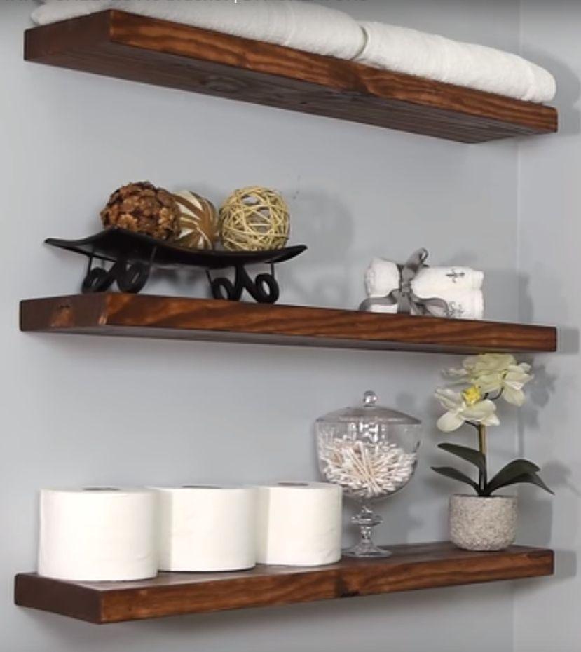 How To Build Diy Floating Shelves 7 Different Ways With Images Floating Shelves Floating Shelves Diy Floating Shelves Kitchen